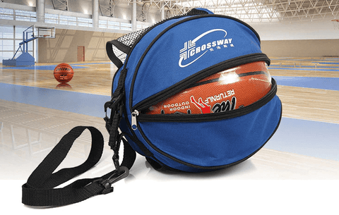 blue color crossway sports ball bag