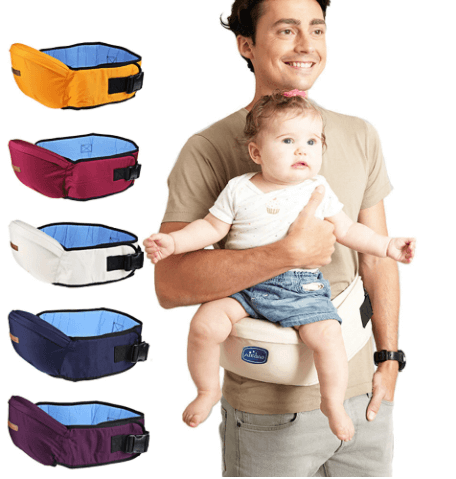various colors baby carrier waist belts