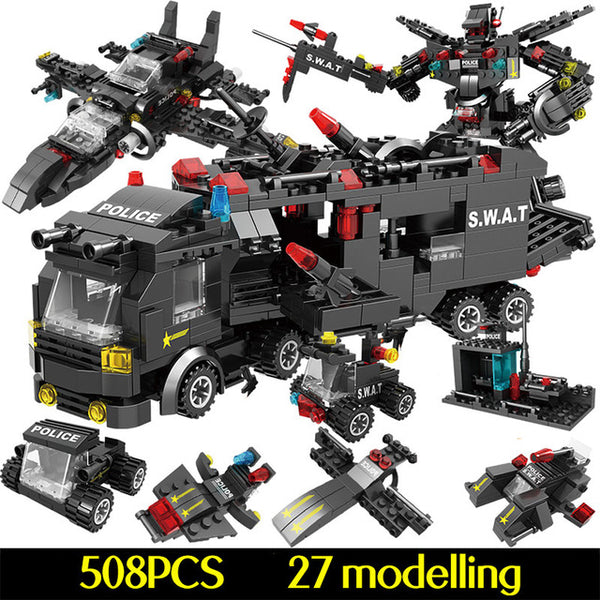 military building block sets