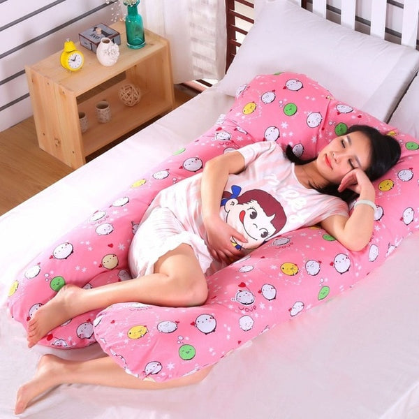 mochi printed pregnancy pillow
