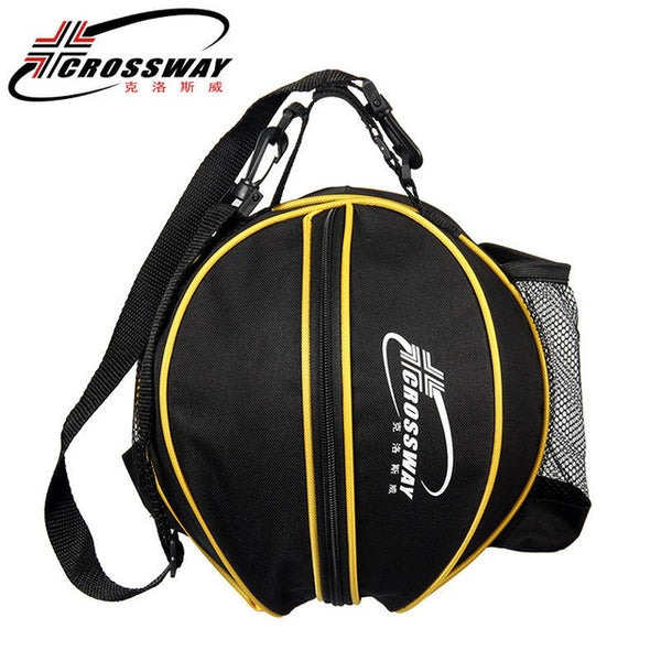 black color sports ball carry bag