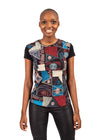 Girl looking forward with African Renaissance tshirt