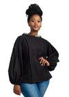 Chipiwo - Black Trapeze Top