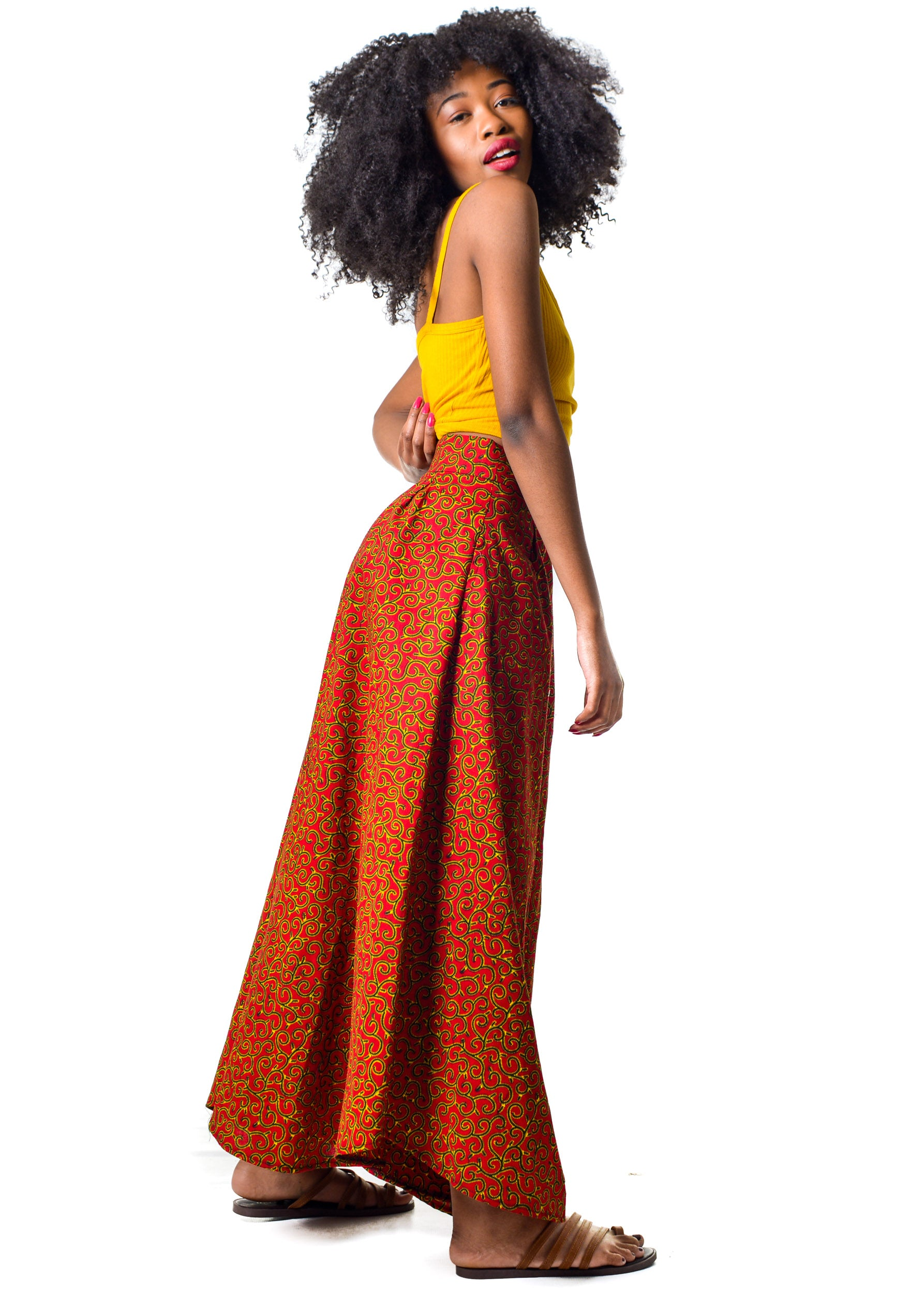 Naturelle - Two Piece Palazzo & Crop Top Nubia