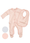 Striped Babygrow Cotton Sleepsuit | 2 Piece Set