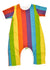 Totoma - Rainbow Body Romper Short Sleeve