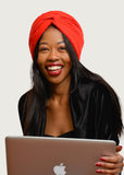 Naturelle | Easy Wrap Doek | Plain Red