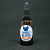 Friends With Beards Citrus Beard Oil - brown 25ml glass bottle with black cap and glass dropper / pipette