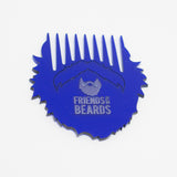 Friends With Beards - Blue Beard Comb