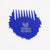 Friends With Beards - Beard Comb Blue FWB Logo