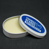 Open 75g tin with cream white night conditioner beard balm