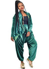 Amelia Wearhouse - Velour Tracksuit (2-Piece)