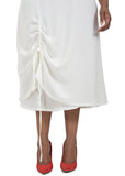 Judith Atelier - Ivory Drawstring Dress