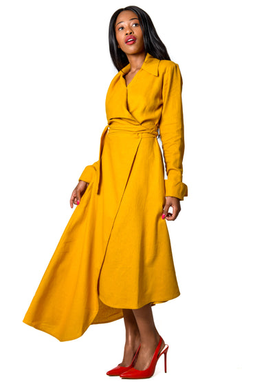Judith Atelier - Leia Wrap Dress