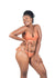 Nude Wear - 2 in 1 Bikini Bottom Beige & Burnt Sienna