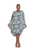 Baroque - Long Sleeve Balloon Dress