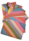 Shweshwe Patchwork Placemats | 6 Piece Set