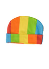 Cute Rainbow style Baby Beanie with folded brim by Totoma
