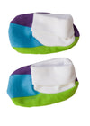 cute totoma rainbow booties