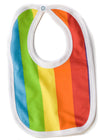 Cute totoma rainbow bib feeder front
