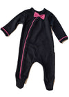 Totoma - Black Body Grow Pink Shweshwe Bow Tie