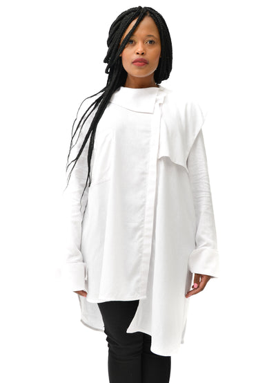 Judith Atelier - Tally Shirt White Linen