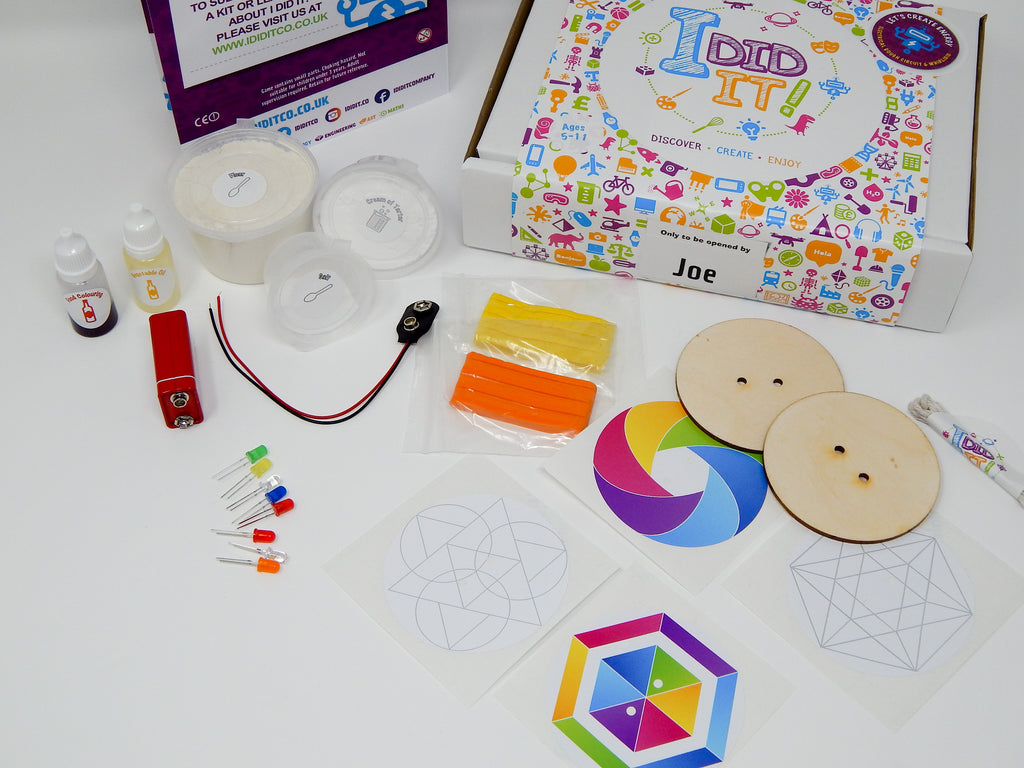 Tech meets tradition in July's I DID IT! subscription kit