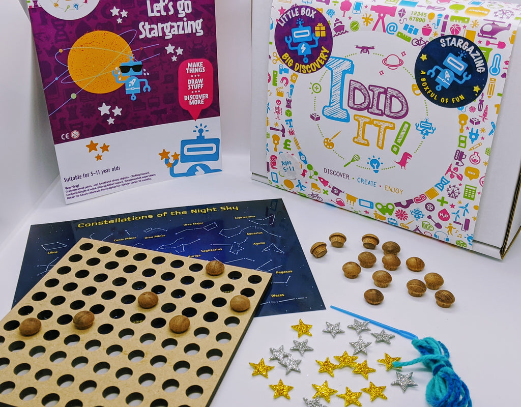 NEW! Little Box Big Discovery - Let's Go Stargazing - I Did It