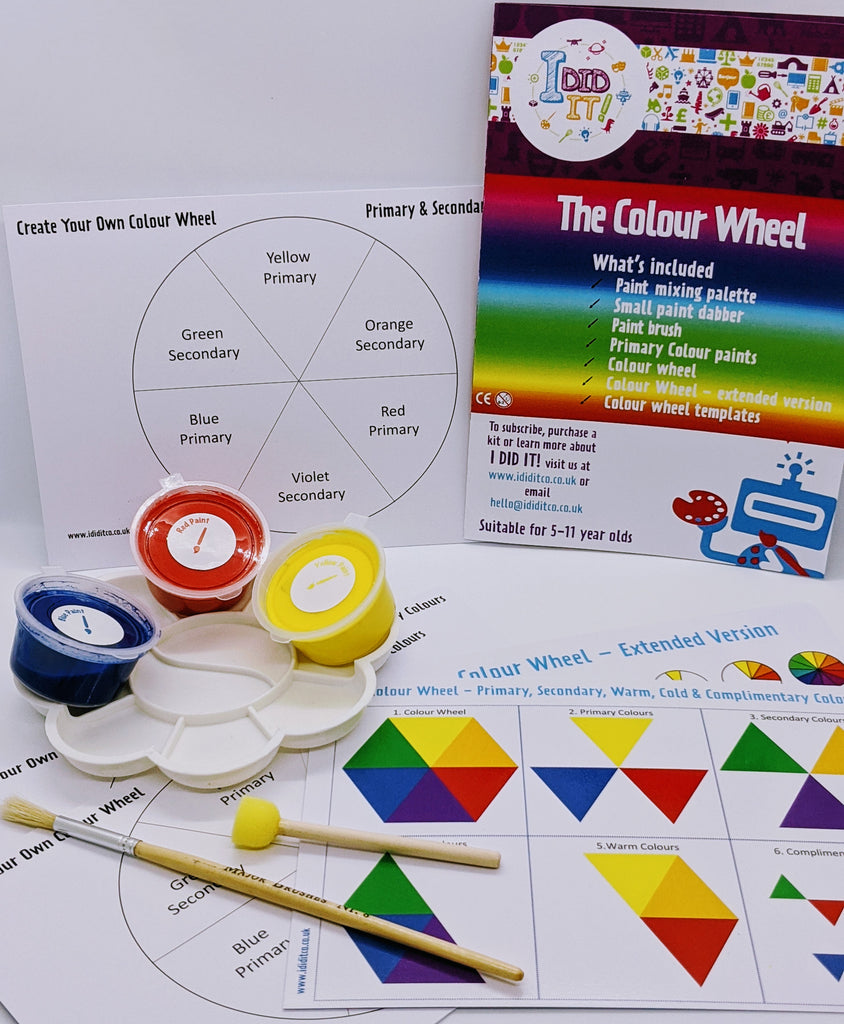 NEW! Little Box Big Discovery - Create Your Own Colour Wheel - I Did It