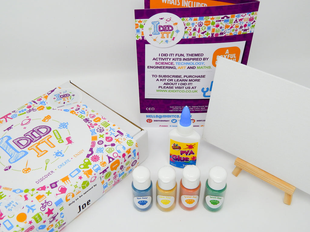 I DID IT! Little Box Big Discovery Monthly Subscription Kit (includes shipping)