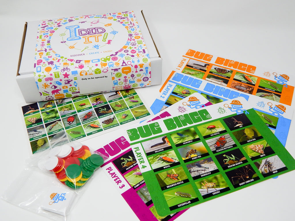 Bug Catcher Bingo Game + £2.95 P&P