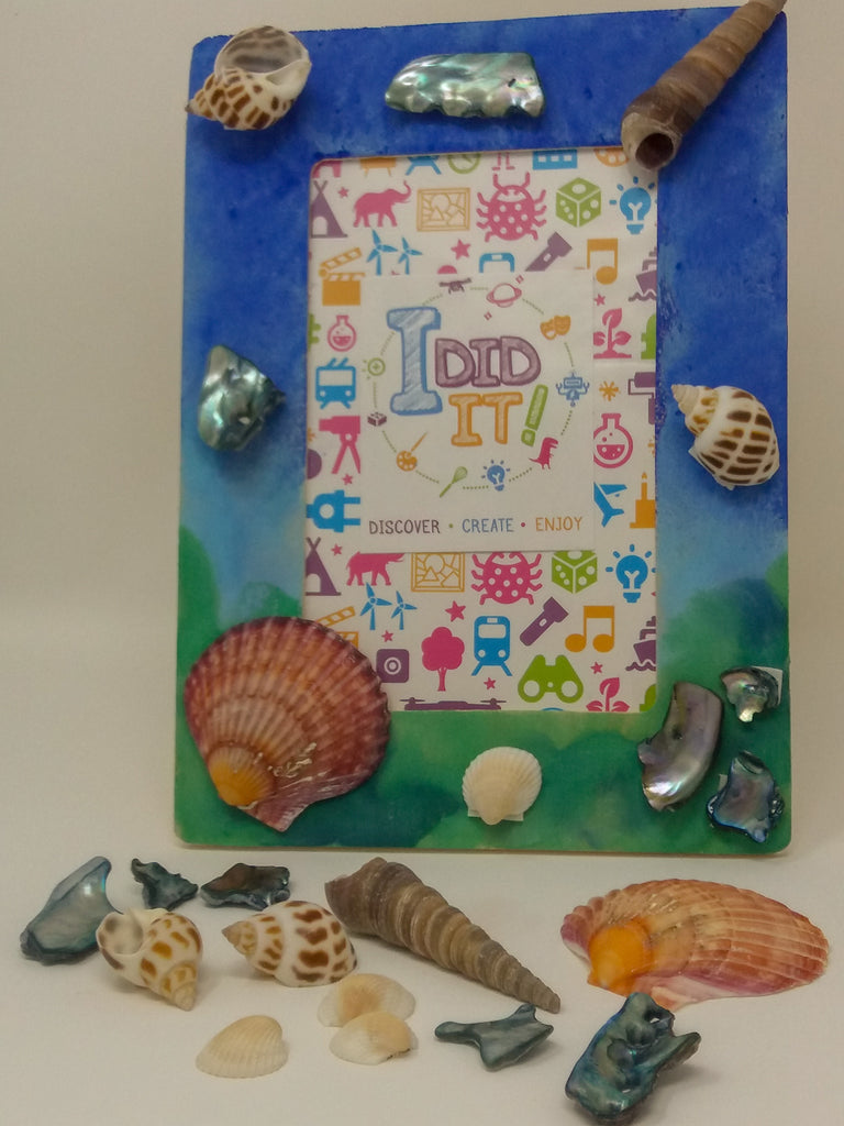 Design a Shell Photo Frame + £2.95 P&P