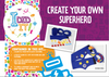 Design your own superhero kit (blue) + £1.26 P&P