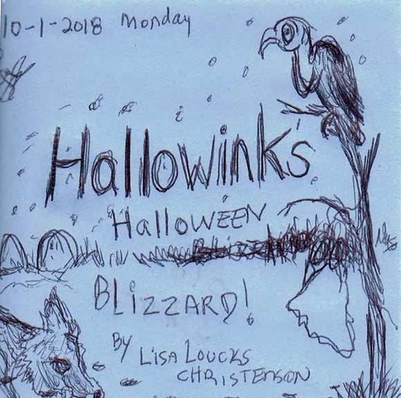 Lisa Loucks Christenson's Hallowinks Halloween Blizzard: Cryptid Hideout