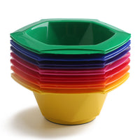 Colorful Mixing Bowls & Brushes