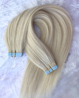 Light Blonde Tape Extensions 20""