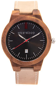 Walnut & Sand/Arrow Red