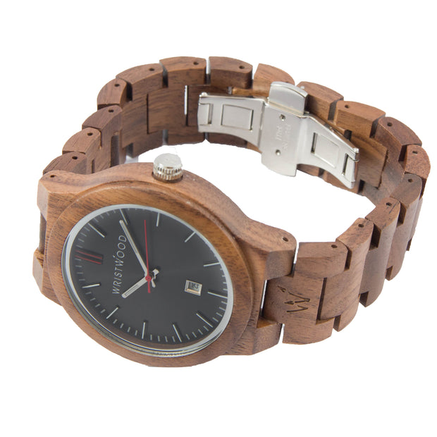 Walnut & Arrow Red