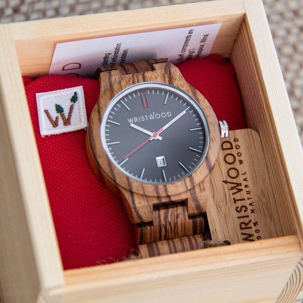 Zebrawood & Arrow Red