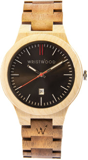 Maplewood/Walnut & Arrow Red
