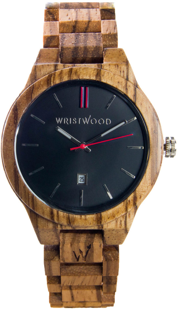 Zebrano Wood - Red Arrow Edition 🇬🇧
