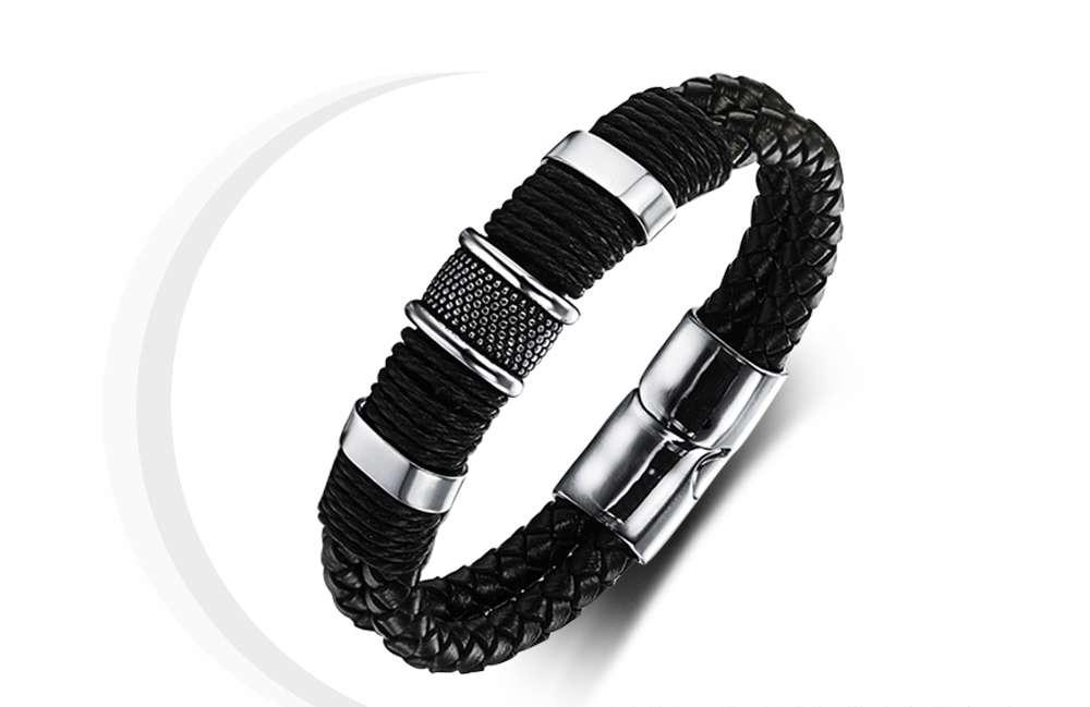 Luxury Leather Beaded Bracelet