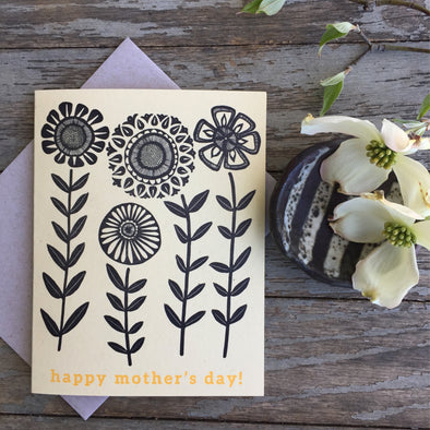 Sunflowers Mothers Day Card