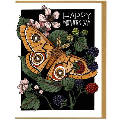 Happy Mother's Day Moth Card