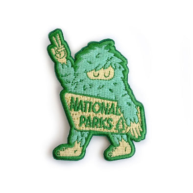 National Parks Sasquatch Iron-On Patch