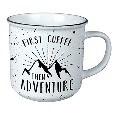 First Coffee, Then Adventure Mug