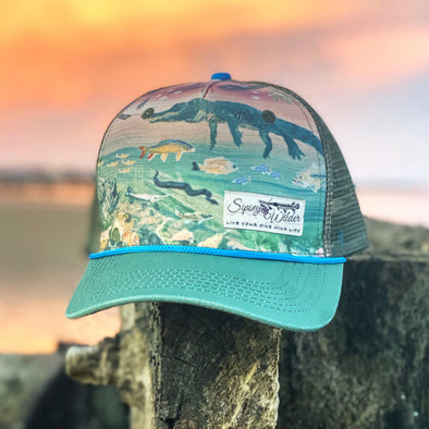 River Wild Trucker Hat