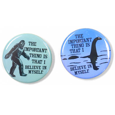 "Believe 1.25"" Pinback Button Set"