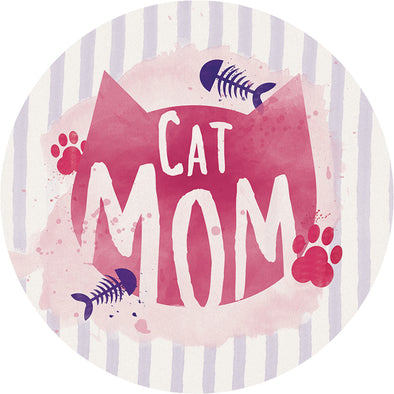 Cat Mom Stone Car Coaster