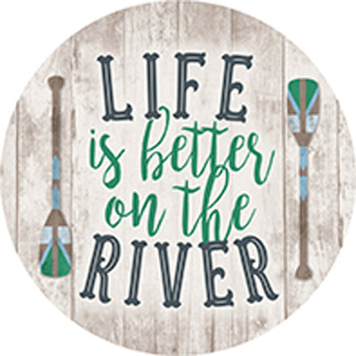 River Life Car Coaster